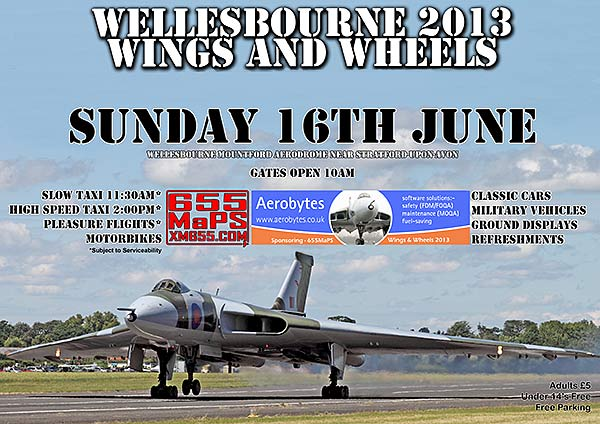 Wellesbourne Wings and Wheels 2013   Sunday 16th June