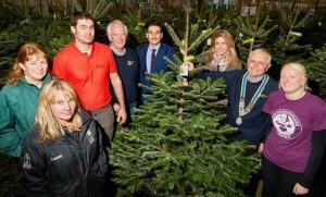 Avon Rotary   Christmas Tree Recycling scheme